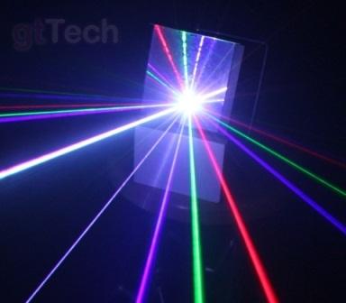 Kvant Laser Diffraktion Grid Effektspiegel