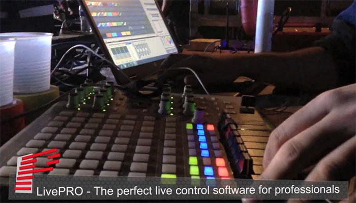 Laserdesigner Pangolin LivePro Lasershowsoftware