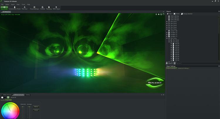 Pangolin Beyond Advanced und Ultimate erlauben die externe Visualisierung mit Realizzer 3D