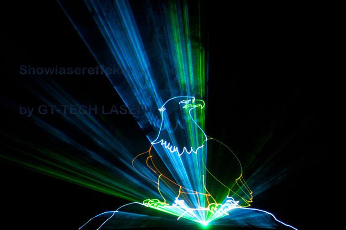 Lasergewebe für Showlasereffekte