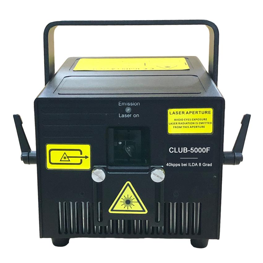 Club-5000F 5W RGB ILDA Showlaser