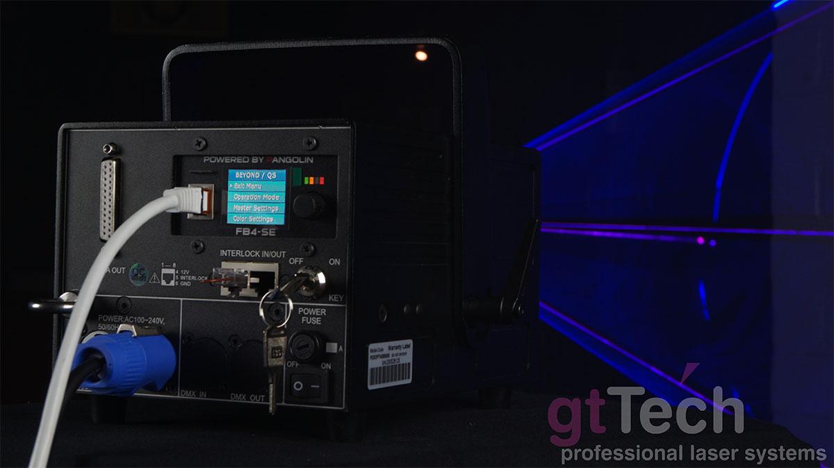 Club-5000F FB4 5W RGB ILDA Showlaser