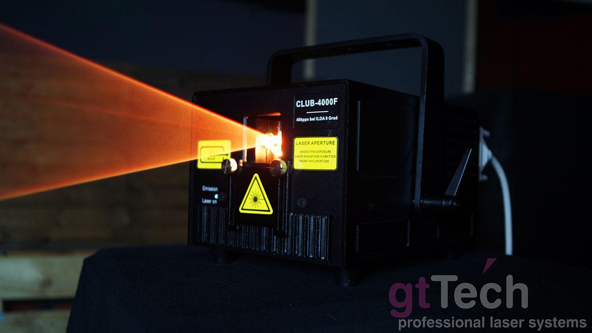 Club-4000F 4W RGB ILDA Showlaser