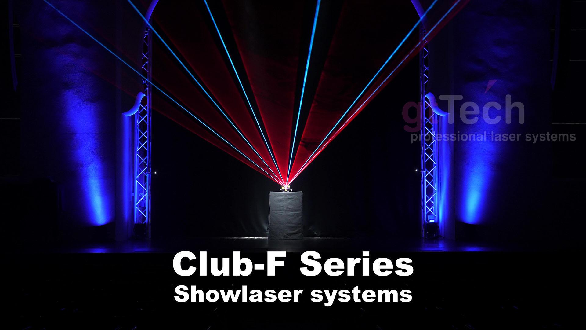 RGB Showlaser Club-F-Serie Ausgabebild