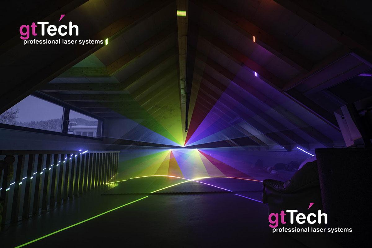 Club-F-Serie RGB Showlaser