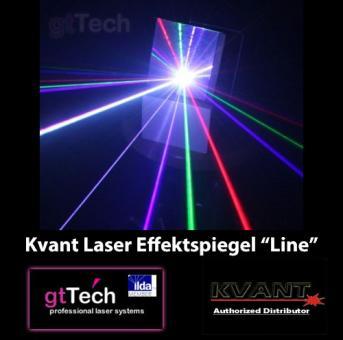 Kvant Laser Effektspiegel Diffraktion Line-Effekt