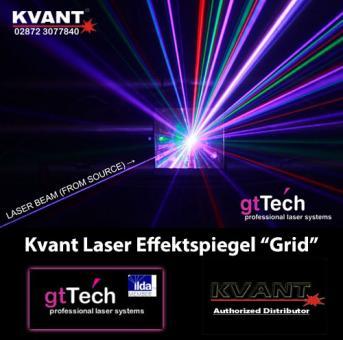 Kvant Laser Effektspiegel Diffraktion Grid-Effekt