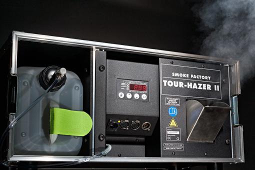 Smoke Factory Tour Hazer II-SF Schwarz (inkl. 5L original Fluid)